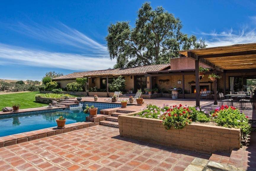 Estate for Sale at 5999 Foxen Canyon Road Los Olivos, California 93441 United States