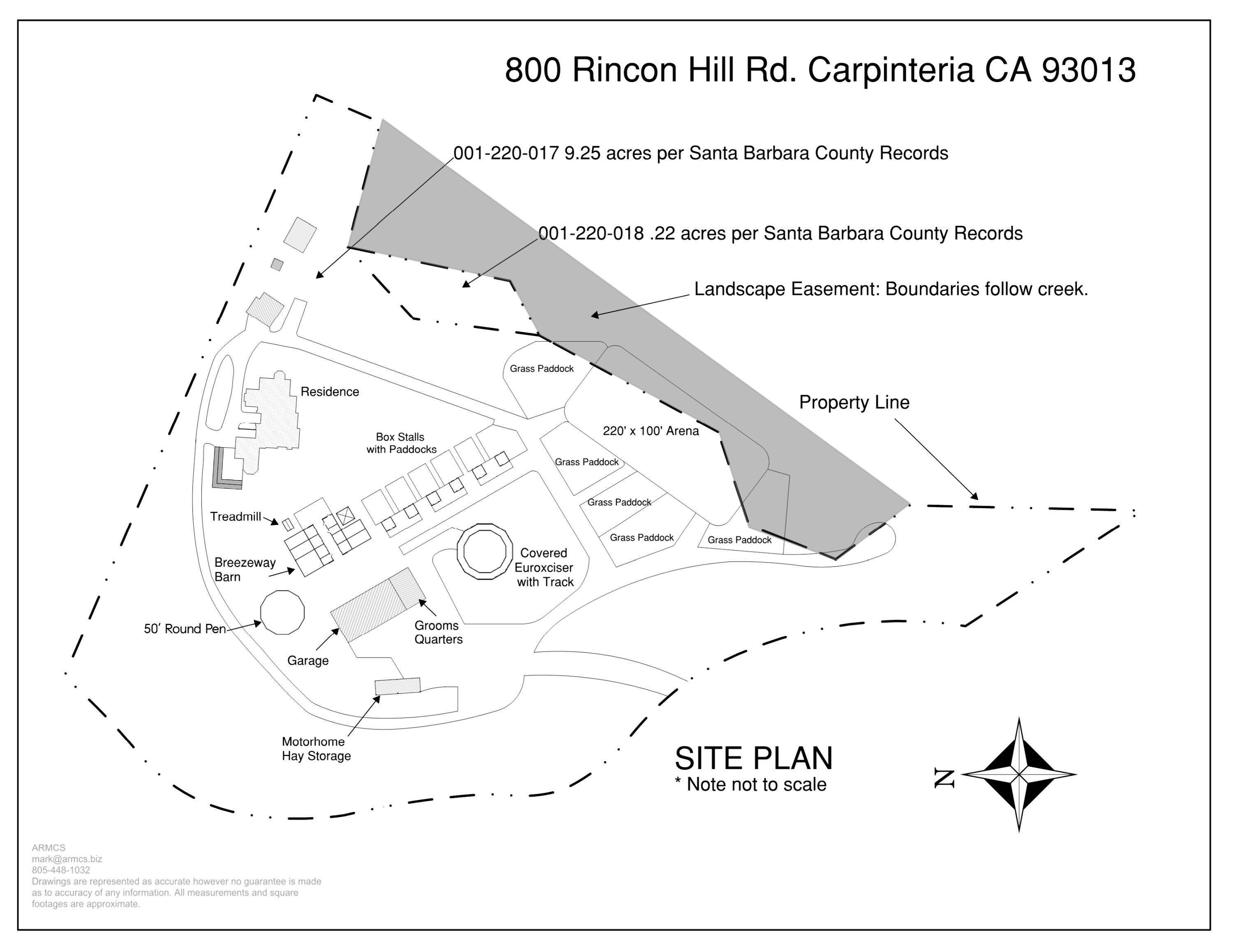 10. Farm and Ranch Properties for Sale at 800 Rincon Hill Road Carpinteria, California 93013 United States