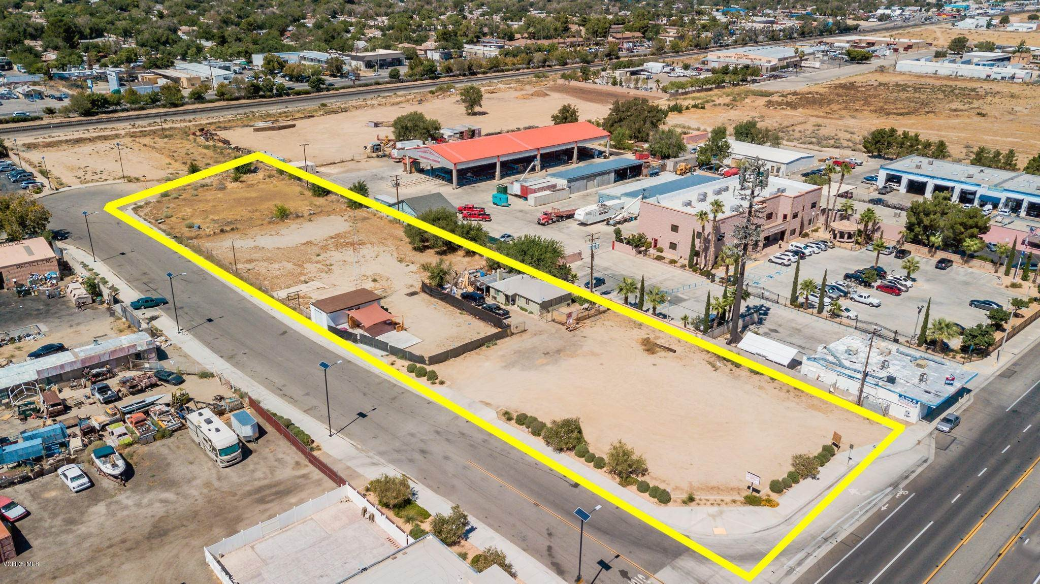 Land for Sale at 43857 Division Street Lancaster, California 93535 United States