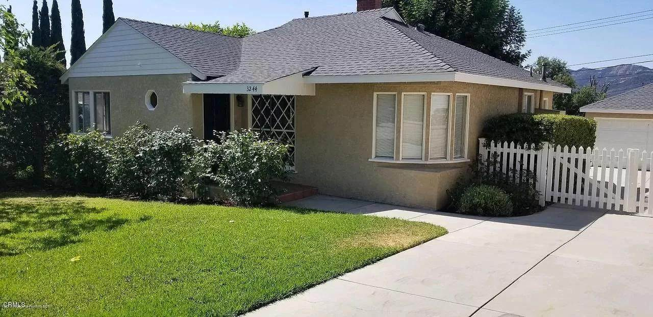 Single Family Homes at 3244 Frances Avenue Avenue Glendale, California 91214 United States