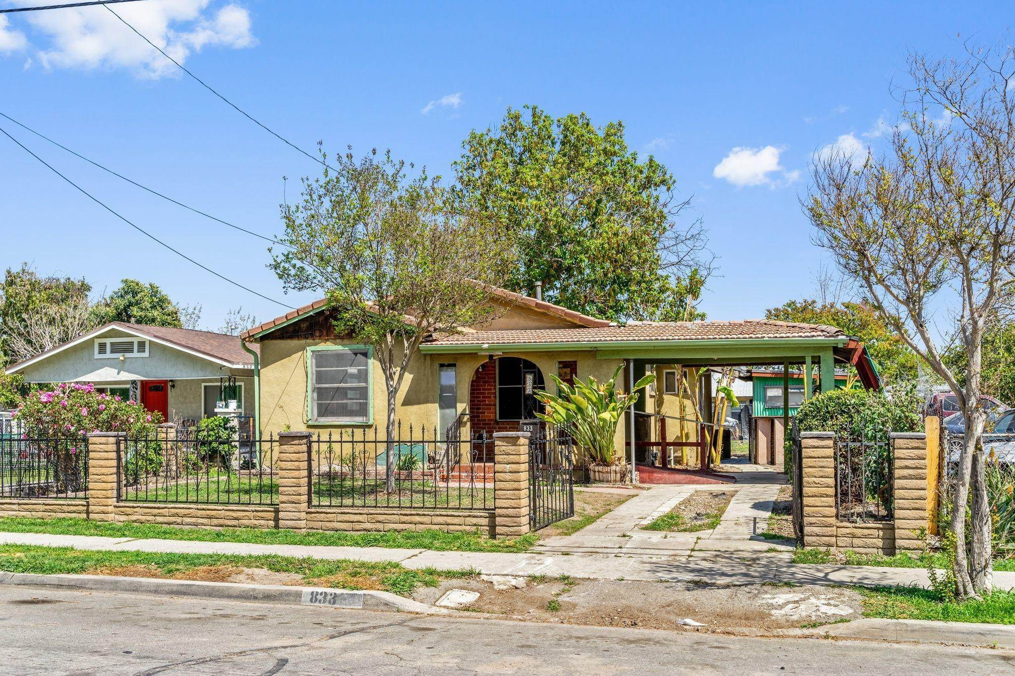 Single Family Homes for Sale at 833 North Garner Avenue San Bernardino, California 92411 United States