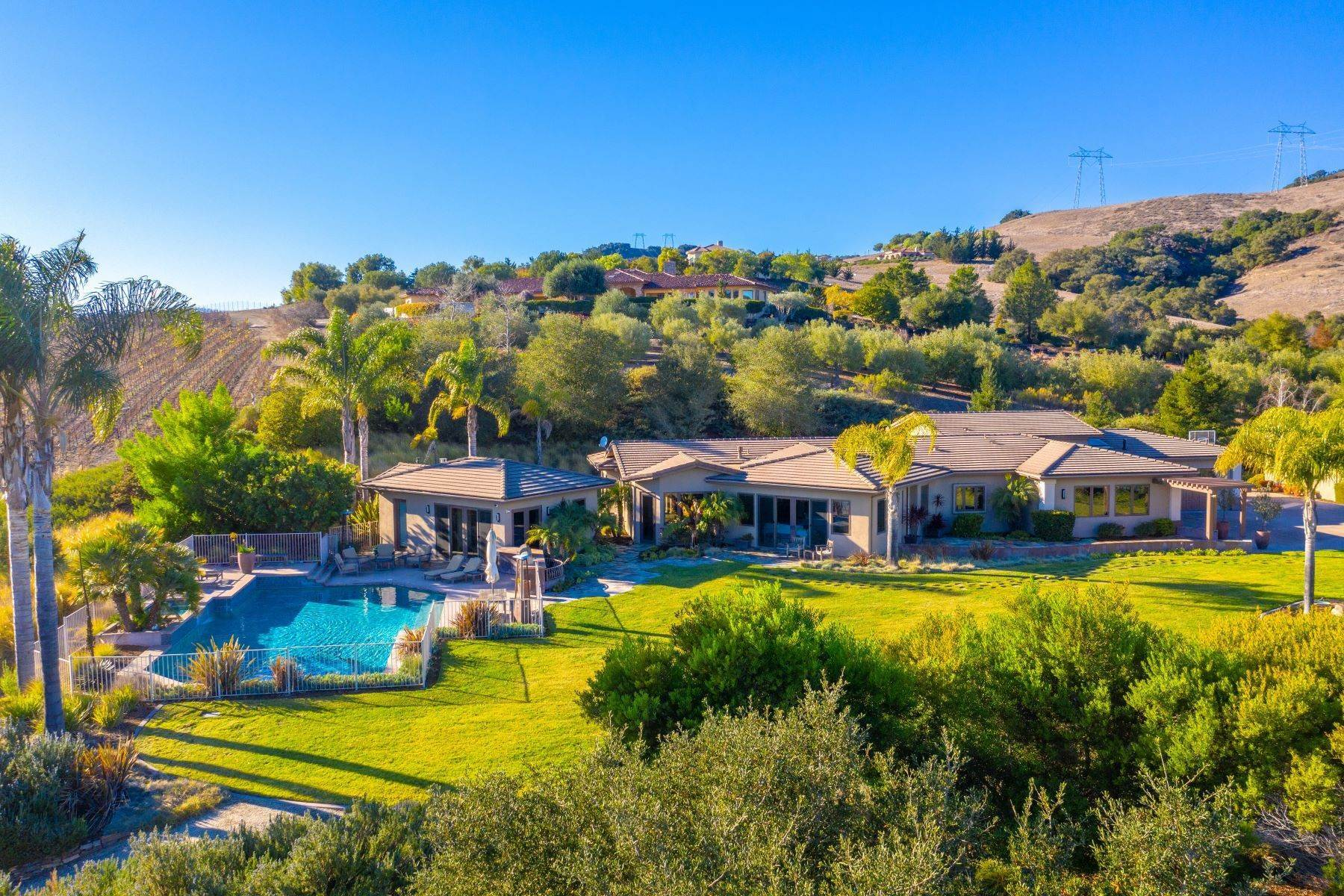 Single Family Homes for Sale at Avila Valley Estate with Detached Living Spaces 425 Bassi Drive San Luis Obispo, California 93405 United States