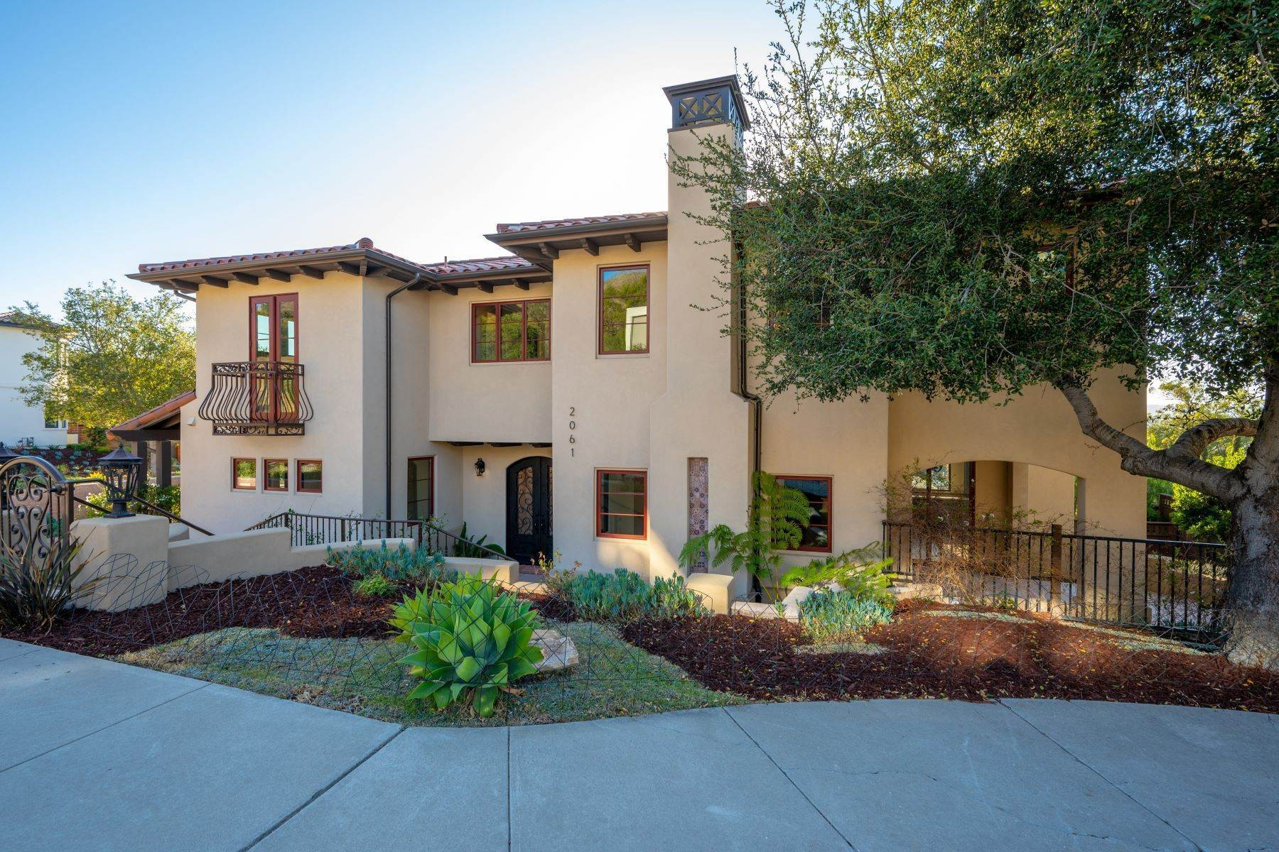 Single Family Homes for Sale at Stunning Spanish-Style Home 2061 Fixlini Street San Luis Obispo, California 93401 United States