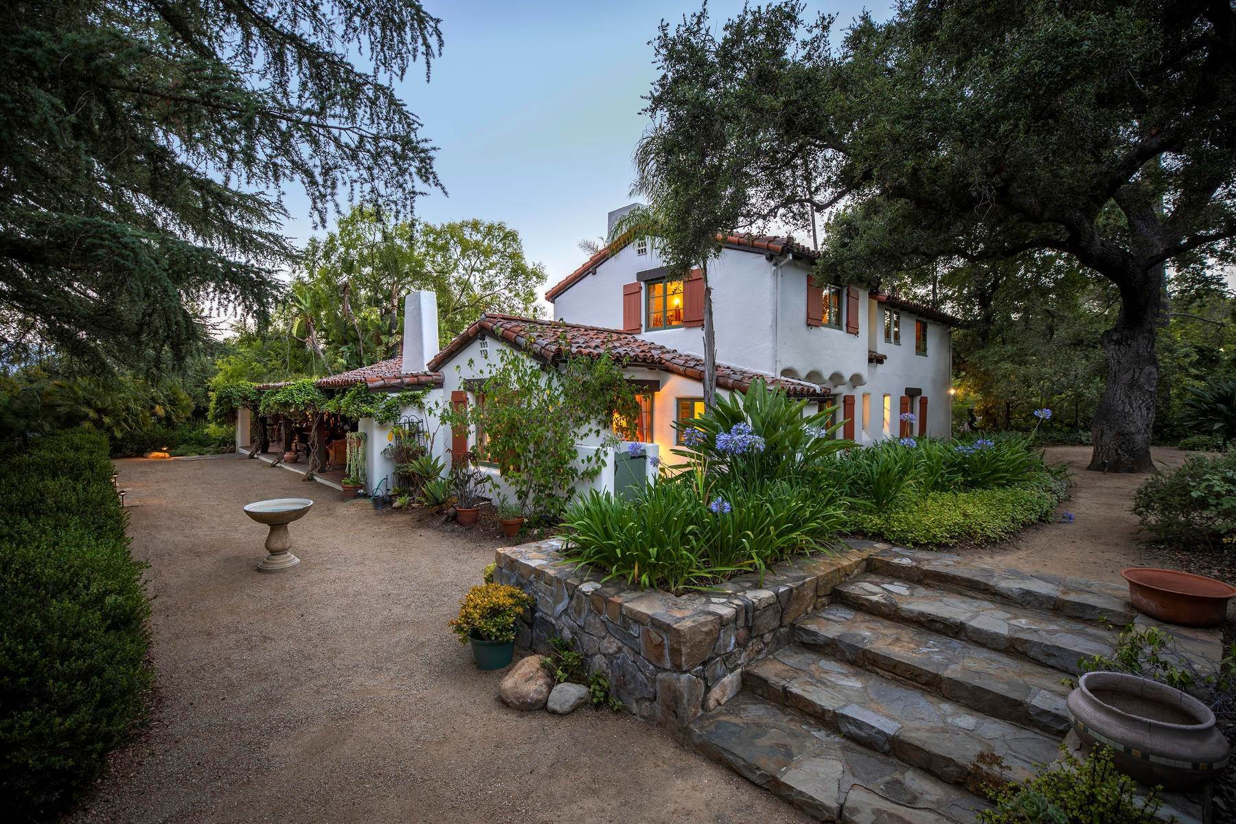 Single Family Homes for Sale at Iconic Paul Williams Design 906 Foothill Road Ojai, California 93023 United States