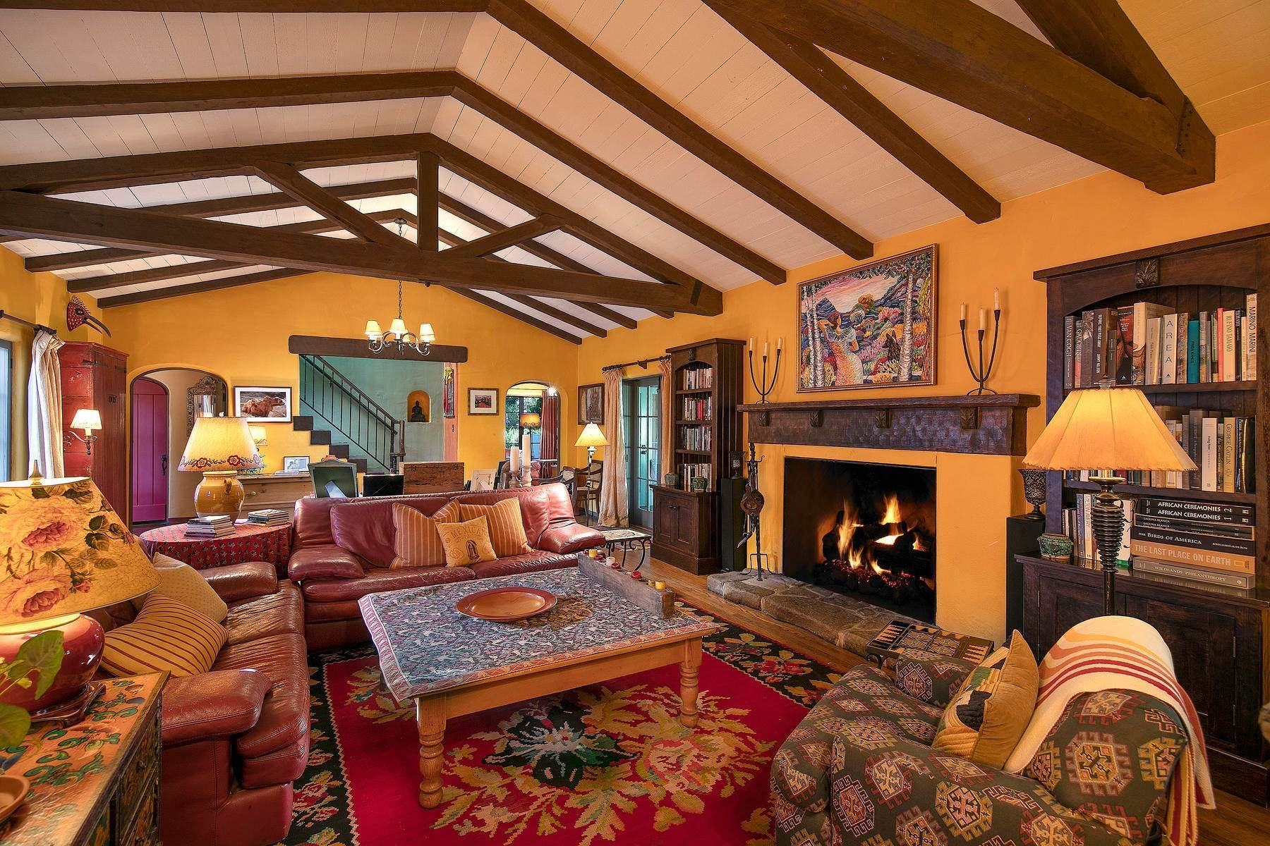 18. Single Family Homes for Sale at Iconic Paul Williams Design 906 Foothill Road Ojai, California 93023 United States