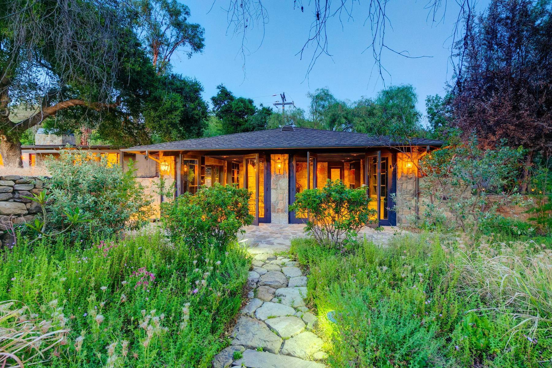 2. Single Family Homes for Sale at 4424 Thacher Road Ojai, California 93023 United States