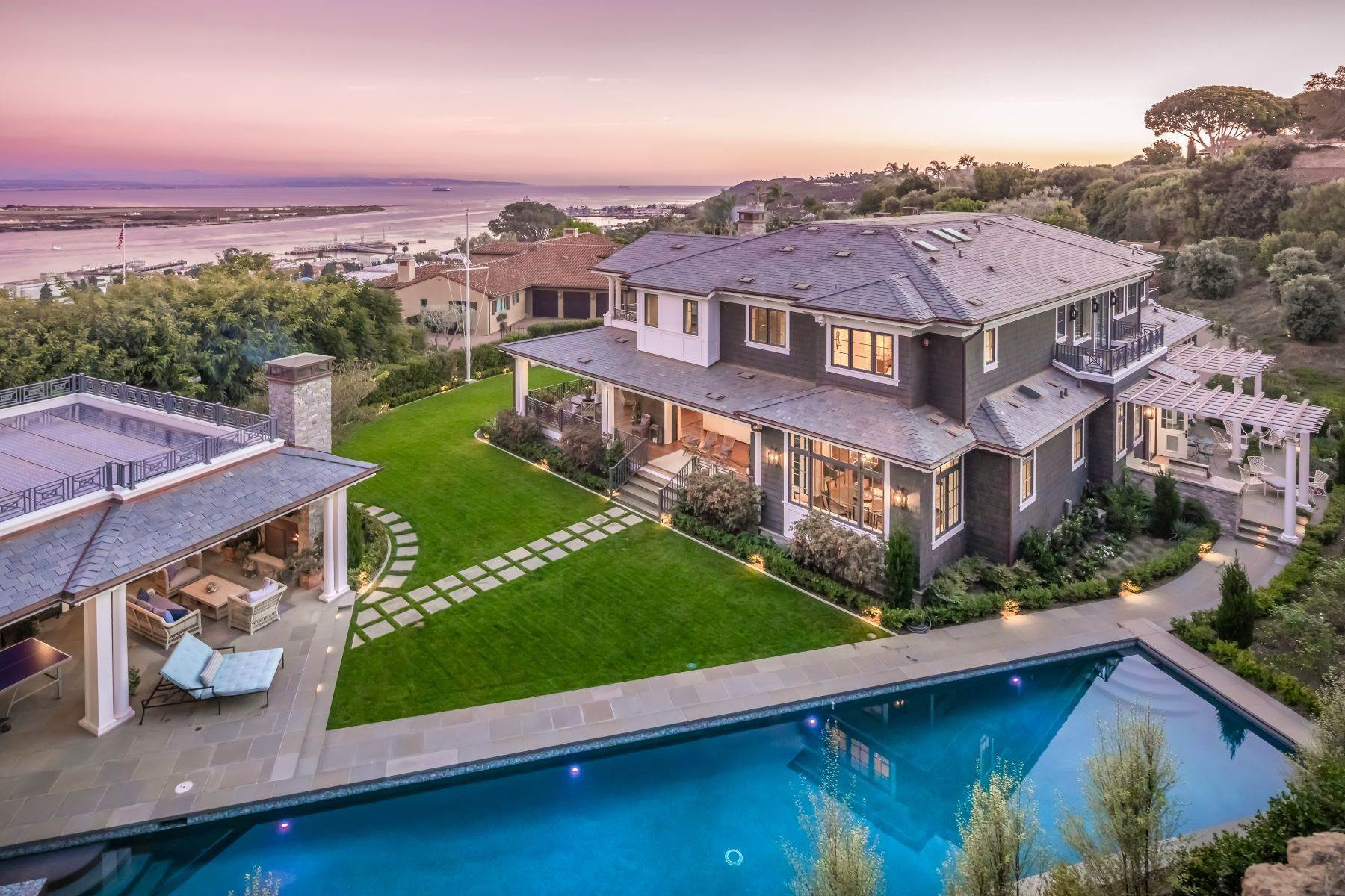 Single Family Homes for Sale at Panoramic Views in Point Loma 3540 Kellogg Way San Diego, California 92106 United States