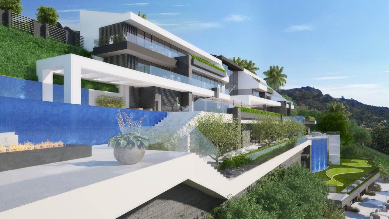 Single Family Homes por un Venta en Spectacular Opportunity 3.17± Acres 1690 Summitridge Drive Beverly Hills, California 90210 Estados Unidos