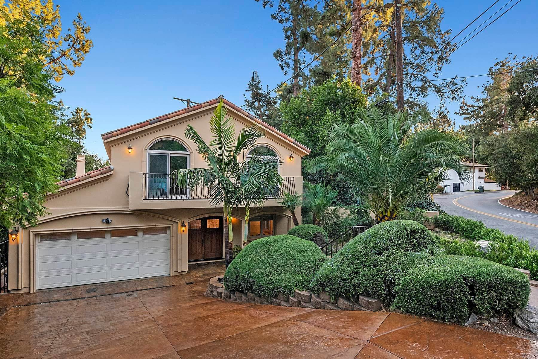 Single Family Homes for Sale at Beautiful Spanish Home 3100 Rubio Canyon Road Altadena, California 91001 United States