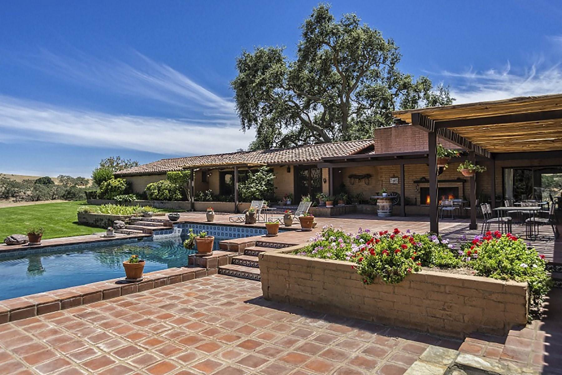 Vineyard Real Estate for Sale at Foxen Canyon Classic 5999 Foxen Canyon Road Santa Ynez, California 93460 United States